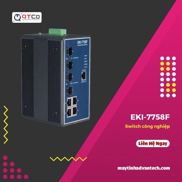 Switch cong nghiep EKI 7758F
