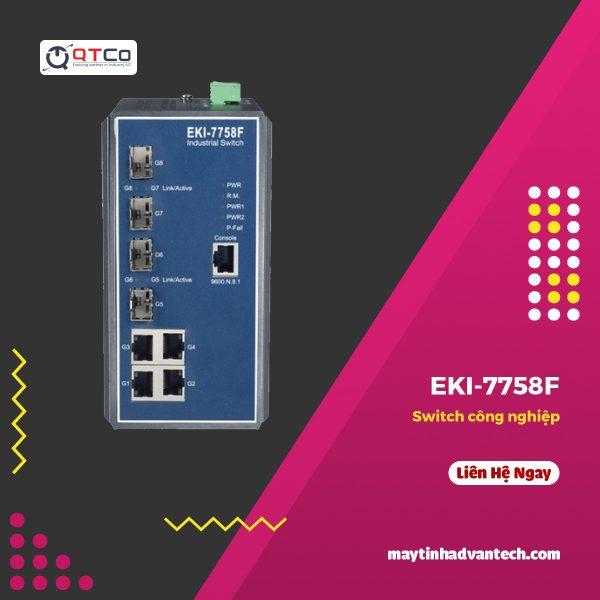 Switch cong nghiep EKI 7758F B