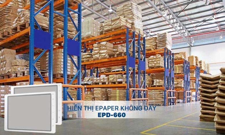 Hiển thị epaper không dây EPD-660