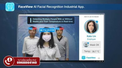 Giải pháp trí tuệ nhân tạo FaceView-Mask Advantech